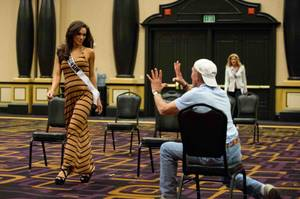 2013 Miss USA Pageant: Rehearsal