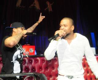 Redman and Method Man host and perform at LAX in the Luxor on Saturday, June 8, 2013.