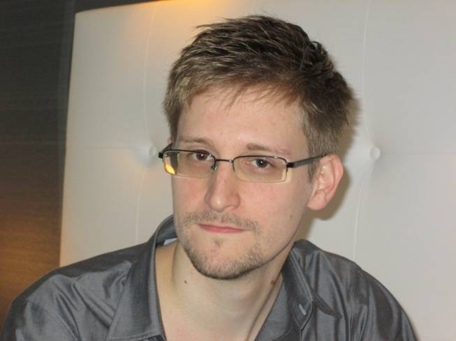 This image made available by The Guardian Newspaper in London shows an undated image of Edward Snowden, 29. Snowden worked as a contract employee at the National Security Agency and is the source of The Guardian's disclosures about the U.S. government's secret surveillance programs, as the British newspaper reported Sunday, June 9, 2013.