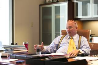 Timothy Donovan, general counsel attorney for Caesars Entertainment, in his office, Monday, June 10, 2013.