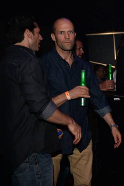 Jason Statham at Hakkasan Las Vegas in MGM Grand.