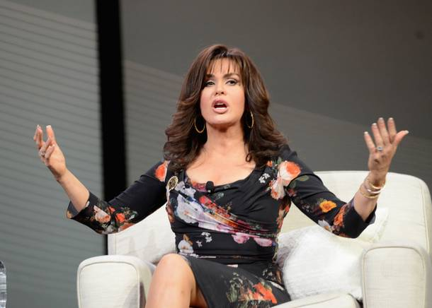 Marie Osmond at the 2013 AARP convention in Las Vegas.