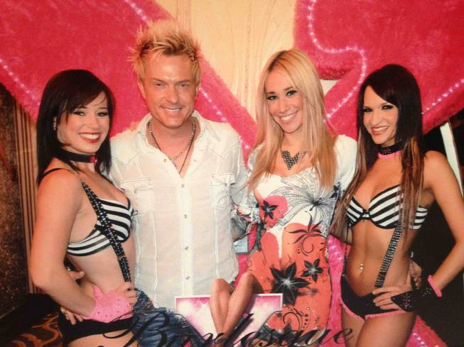 "Chris Phillips and Lydia Ansel caught the ""X Burlesque"" show at the Flamingo recently."