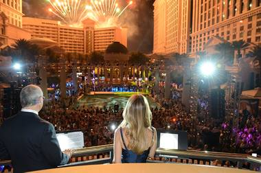 No other city on earth throws a party like Las Vegas! The 4,000 visitors from around the globe for the IPW World Travel Congress convention were speechless Wednesday night when Caesars Palace hosted their final exciting night on the Strip.