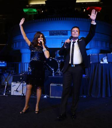 Since Tuesday, Marie Osmond has performed primarily as a soloist as her brother Donny recovers from a tear to his gluteus maximus.