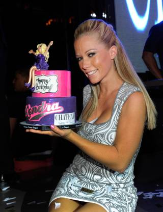 Television personality Kendra Wilkinson-Baskett celebrates her birthday at the Chateau Nightclub & Gardens at the Paris Las Vegas on June 15, 2013 in Las Vegas.