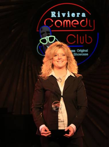 Maria Walsh, top comic in a field of 226.