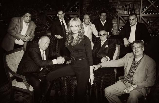 "Denise Truscello's portrait of the cast of ""The Sopranos,"" taken at Golden Nugget in 2004."