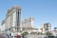 An exterior view of Caesars Palace, June 6, 2013.