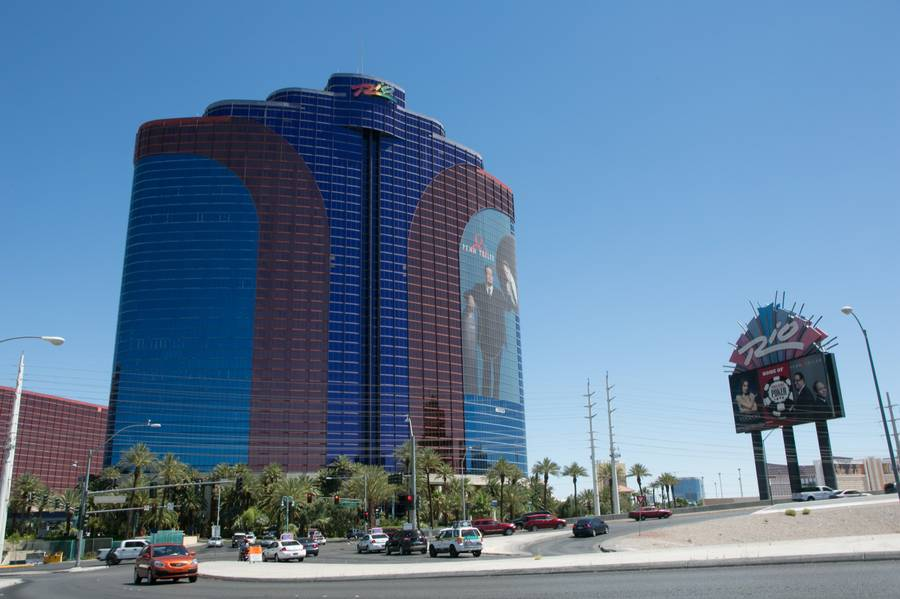 An exterior view of the Rio Hotel and Casino, June 6, 2013.