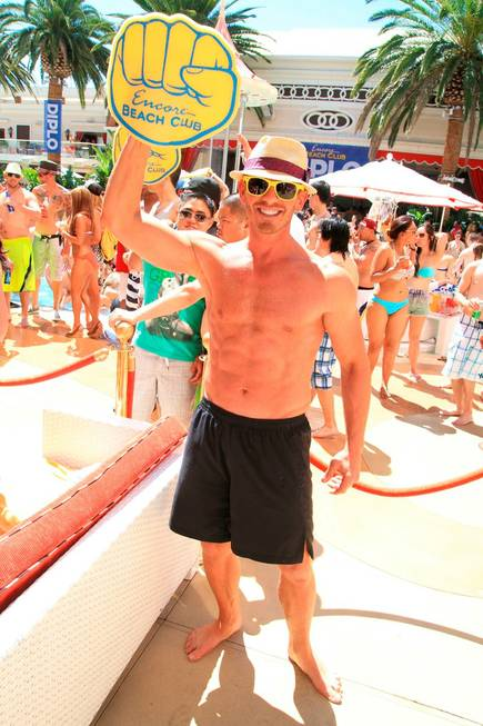 Ian Ziering at Encore Beach Club on Friday, June 21, ...