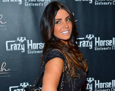 """Mob Wives"" star Ramona Rizzo hosts at Crazy Horse III in Las Vegas on Saturday, June 22, 2013."