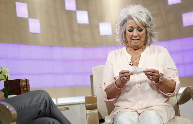 "In this publicity image released by NBC, celebrity chef Paula Deen appears on NBC's ""Today"" on Wednesday, June 26, 2013, in New York."