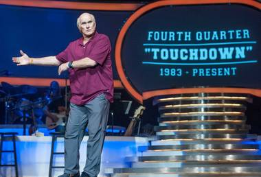 It's not unusual for a man named Terry to entertain audiences at the Mirage. It's just that it's usually the ventriloquist Fator, not the football legend Bradshaw. The variety-themed show finds Bradshaw in storytelling mode, reflecting on everything from his Louisiana upbringing and four Super Bowl wins to his marriages and broadcasting career.