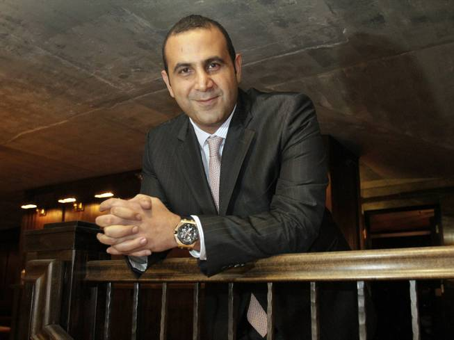 Sam Nazarian stands at the former MyHouse club space under reconstruction in Hollywood on Dec. 12, 2012. Nazarian, the CEO of SBE Entertainment Group, is growing L.A. brands on national and international levels.