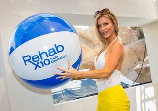 Joanna Krupa hosts the 2013 Rehab Bikini Invitational at The Hard Rock Hotel Las Vegas on Sunday, June 30, 2013.