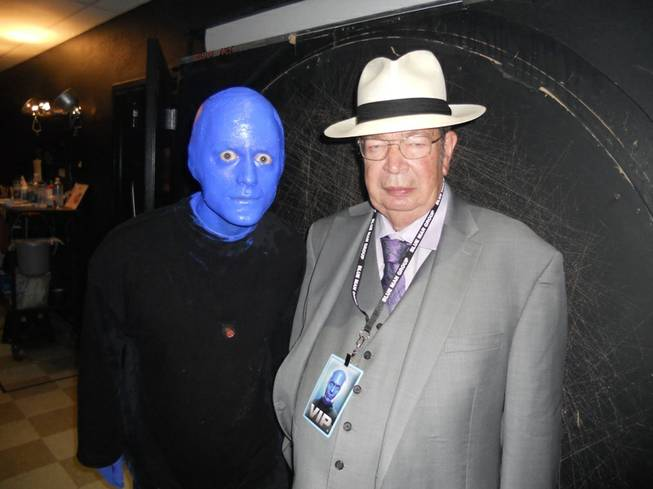 Richard Harrison at Blue Man Group in Monte Carlo on Saturday, June 29, 2013.