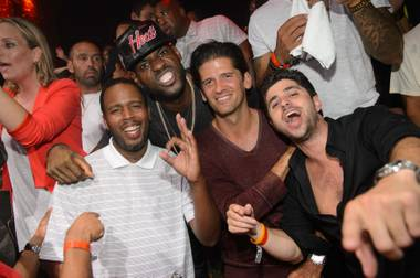 Before LeBron James arrived at The Heat Repeat Championship Party in a leather Miami Heat cap, he dined at Tao with a large group that ...