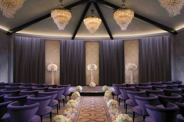 I'm Colleen Kestel-Raidmae, the director of The Wedding Chapel at Aria, which just started making wedding dreams come true in April. ...