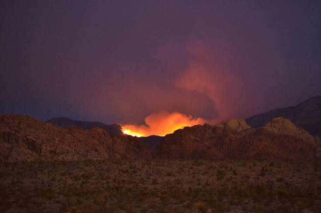 Mount Charleston fire