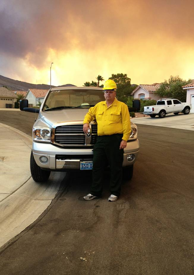 Patrick Jacobson was hired by US Forest Service to help run errands, he is also employed by the Clark County School District.