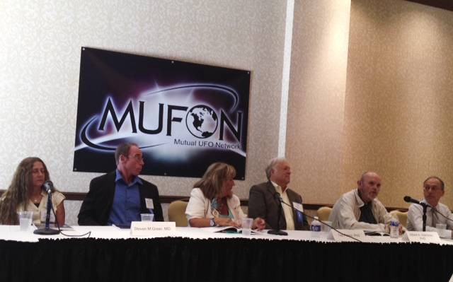 Scientists from across the globe are attending the Mutual UFO Network Symposium this weekend at the JW Marriott Hotel to talk about extraterrestrials and all things unexplained in the cosmos, Friday 19, 2013.
