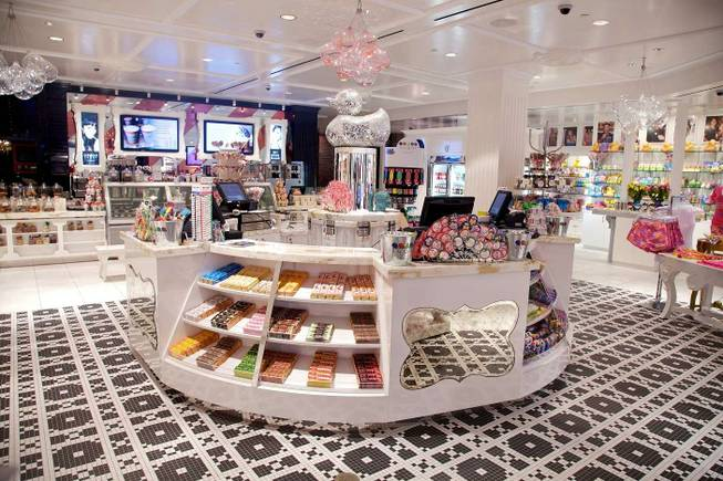 Sugar Factory in Paris Las Vegas.