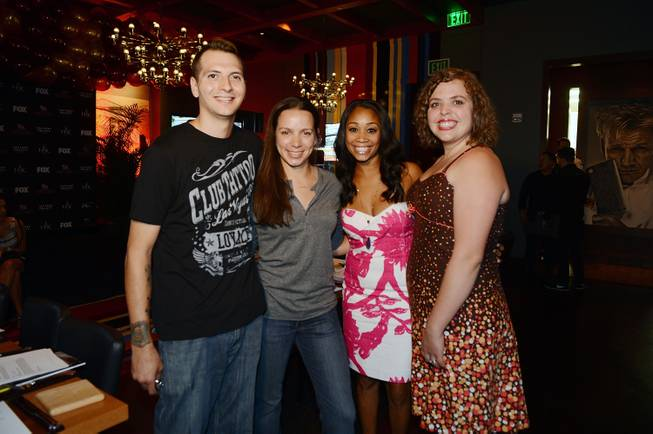 Jon Scallion, Christina Wilson, Ja'Nel Witt and Mary Poehnelt attend ...