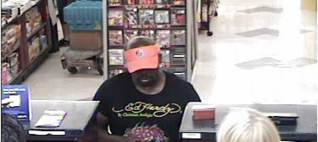 A man Metro Police dubbed the Mustache Bandit is suspected of robbing or attempting to rob nine different banks throughout the Las Vegas Valley.