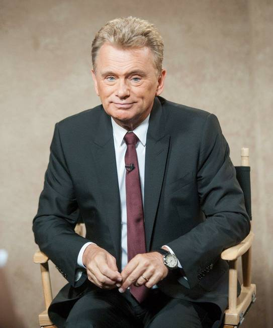 Pat Sajak records episodes of Season 31 of