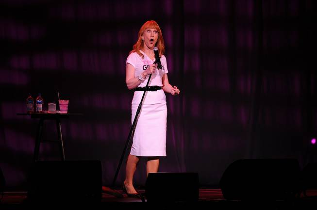 Kathy Griffin performs at the Hard Rock Live within the Seminole Hard Rock Hotel & Casino on June 11, 2013 in Hollywood, Florida.