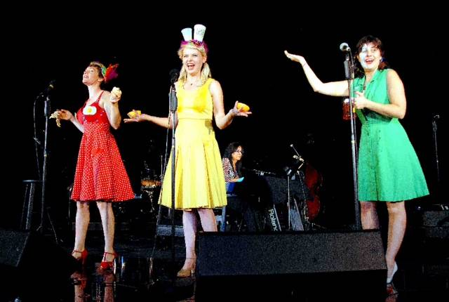 The Apple Sisters perform at Art Square Theater.