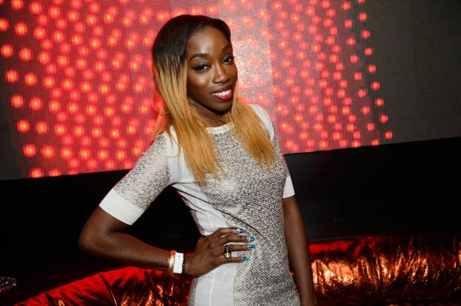 Estelle at Hakkasan in MGM Grand on Thursday, Aug. 1, ...