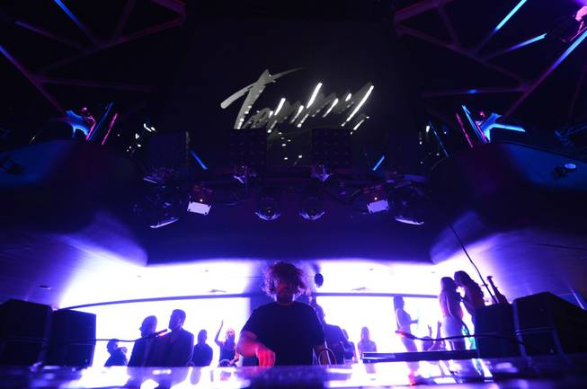 DJ Tommy Trash at Hakkasan in MGM Grand on Thursday, ...
