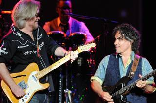 Hall & Oates at the Joint in the Hard Rock Hotel on Friday, Aug. 2, 2013.