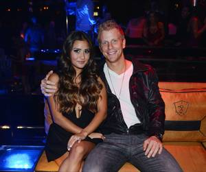 Sean Lowe and Catherine Giudici at 1OAK and Liquid