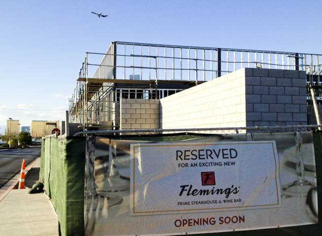 The site of a new Town Square restaurant, Flemings, Sunday, Aug. 4, 2013.