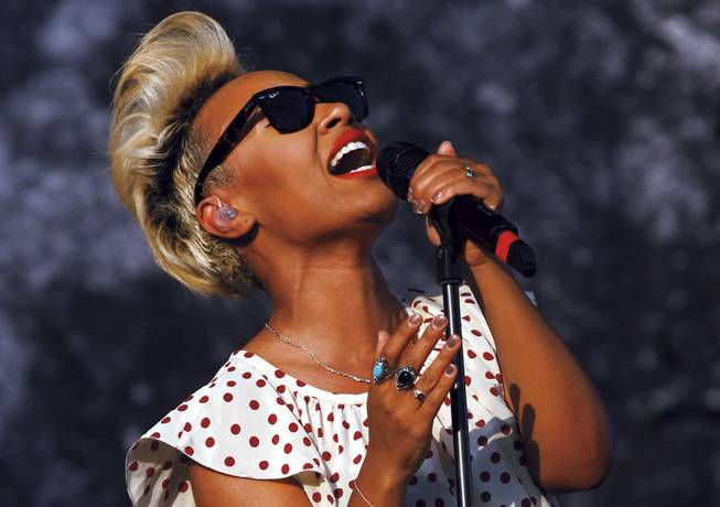 Sande storm: The Brit R&B star hits the House of Blues this weekend.