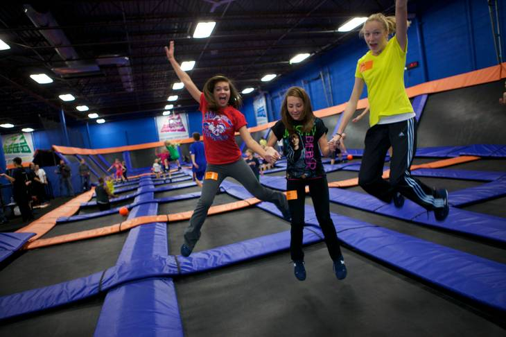 Sky Zone Indoor Trampoline Park opened it's second location on July 1 at 7440 Dean Martin Dr. Suite 201.