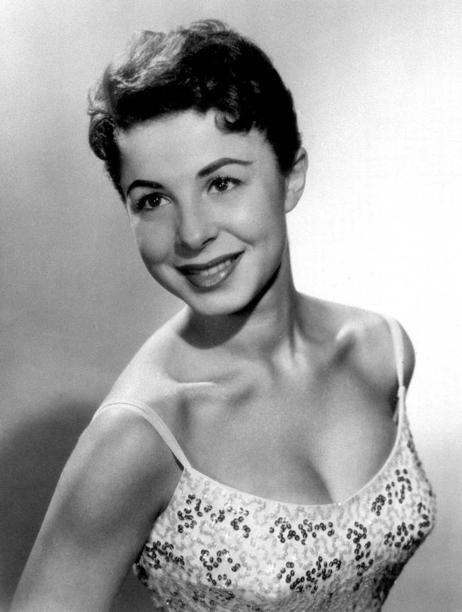 This 1956 file photo shows Eydie Gorme. Her publicist, Howard Bragman, says she died at a Las Vegas hospital Saturday, Aug. 10, 2013, after an undisclosed illness.