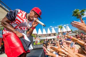 Ne-Yo performs at Ditch Fridays at Palms Pool on Friday, Aug. 9, 2013.