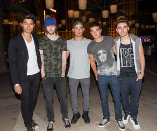 The Wanted at Boulevard Pool in the Cosmopolitan of Las Vegas on Friday, Aug. 9, 2013.