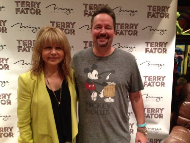 Pia Zadora and Terry Fator.