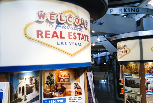 The 24/7 Real Estate kiosk at Las Vegas' Fashion Show mall, as seen on Aug.5, 2013.