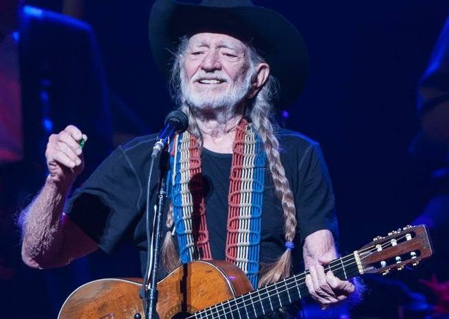 """An Evening With Willie Nelson & Family"" at Reynolds Hall in Smith Center for the Performing Arts in downtown Las Vegas on Tuesday, Aug. 13, 2013."