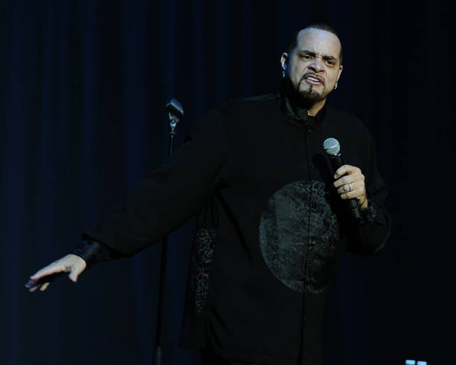 Sinbad performs Jan. 13, 2012, in Tampa, Fla.
