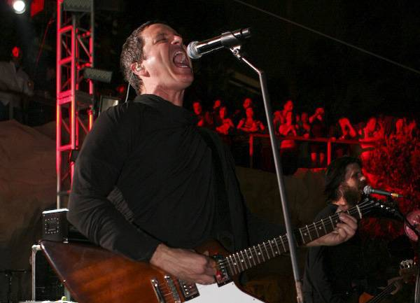 Stephan Jenkins of Third Eye Blind performs at Friday Night Live at the Hard Rock Hotel on June 12, 2009.