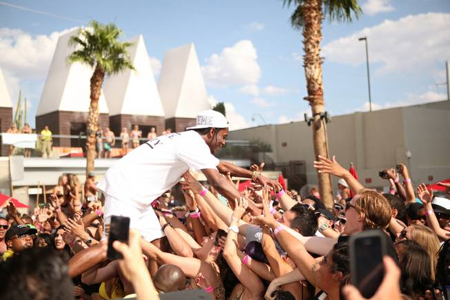 A$AP Rocky at Ditch Fridays at Palms Pool on Friday, ...