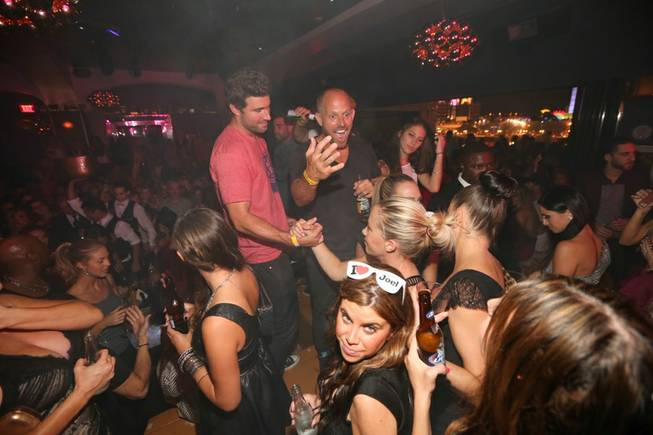 Brody Jenner celebrates his 30th birthday at Hyde Bellagio on ...