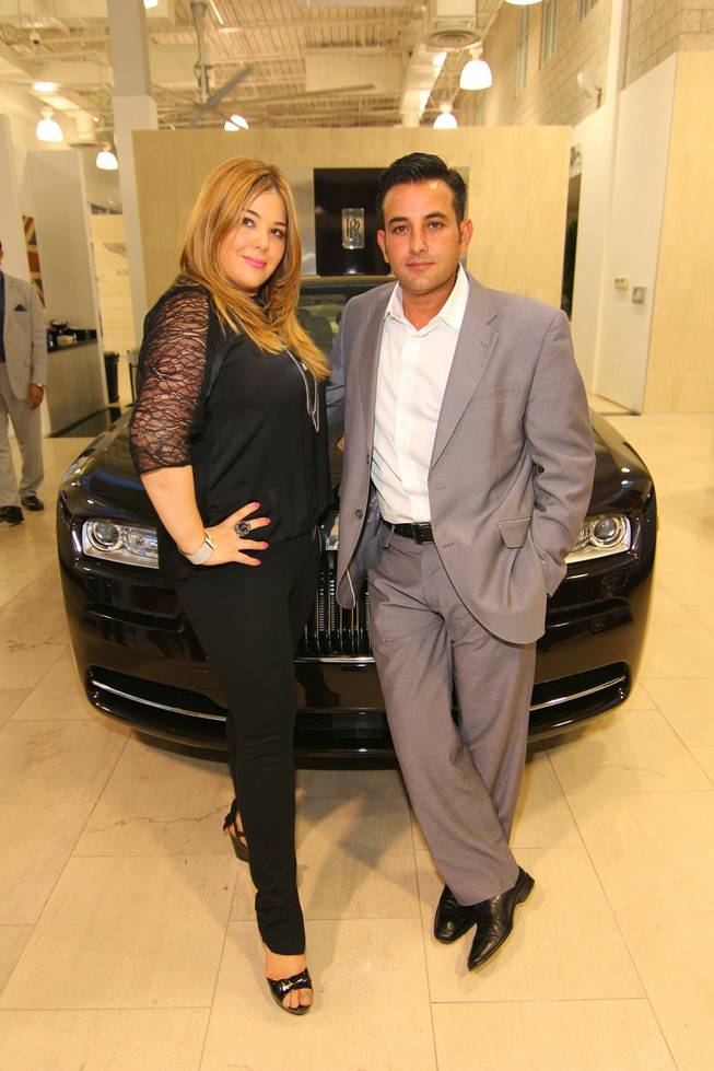 Jesika Towbin-Mansour and Rony Mansour of Towbin Motorcars.